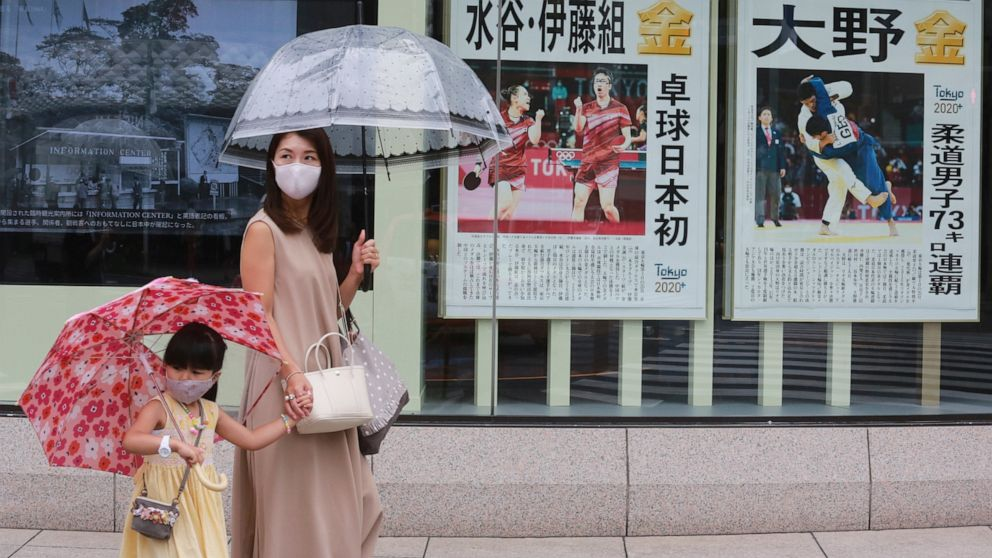 Tokyo records record virus cases days after Olympics begin