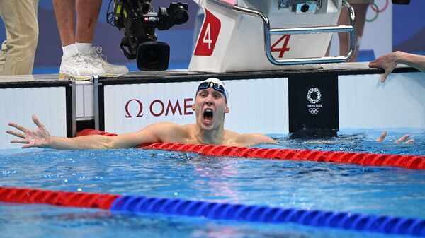 The First Tokyo Olympics Medals For The U.S. Go To 2 Men's Swimmers